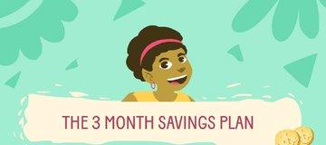 3 months saving plan
