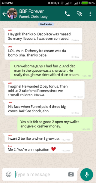 Funmi's Day Out
