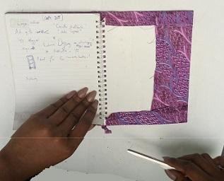 Do-it-yourself series: Ankara Notebook